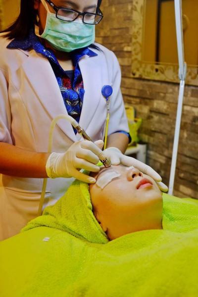 rumah sakit pupuk kaltim bontang rspkt sangatta sengatta kalimantan timur skin care perawatan dokter kecantikan mikrodermabrasi