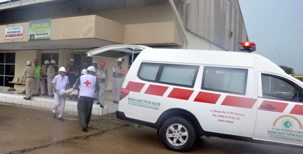 tanggap darurat PKT 2012
